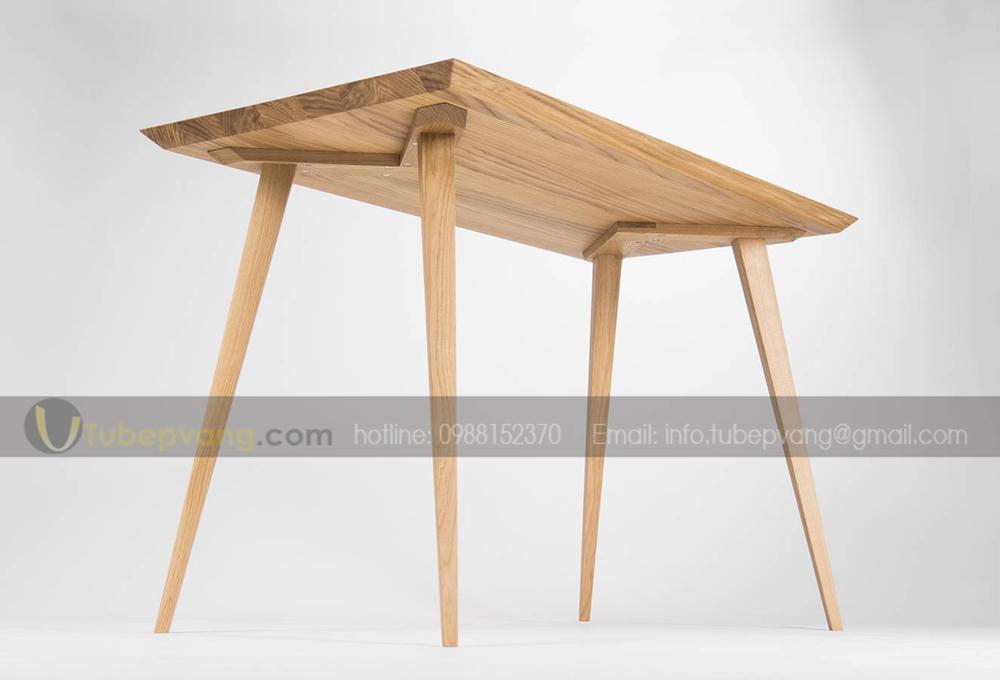 bàn làm việc gỗ sồi