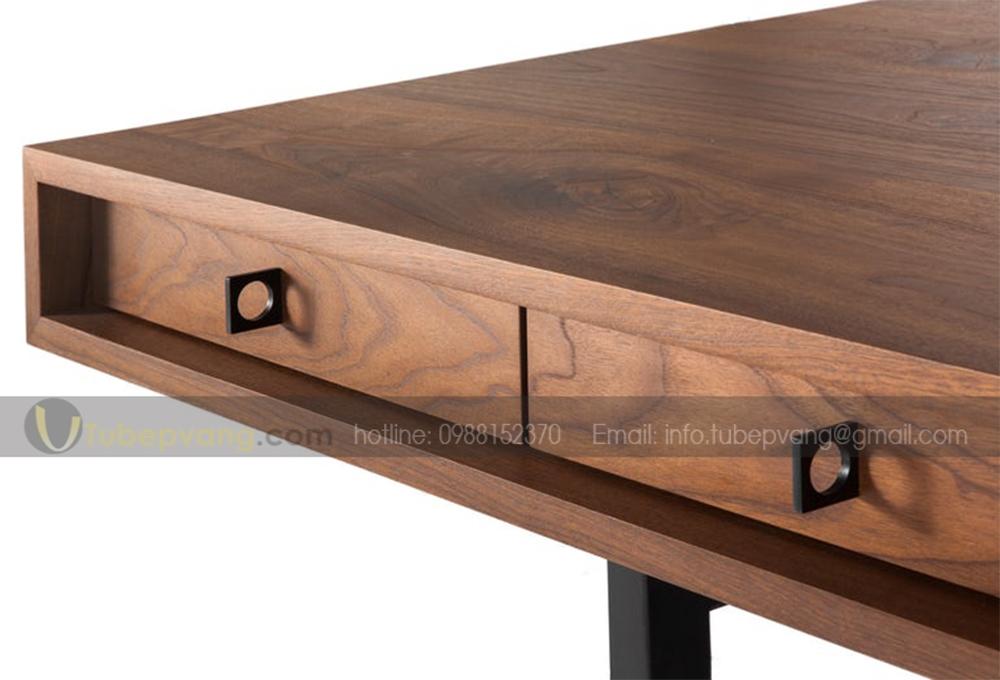 bàn trưởng phòng gỗ tự nhiên